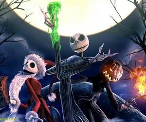 Halloween, jack, and jack skellington image