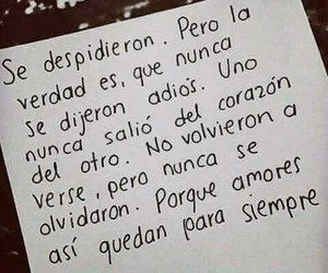 love, frases, and adios image