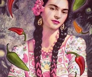 Frida, frida kahlo, and illustration image