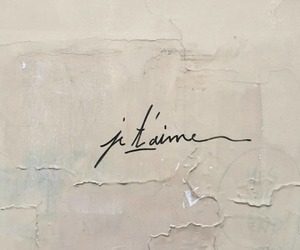 quotes, french, and je t'aime image