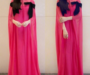 dress, stylé, and pink image