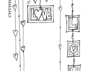 doodle and love image
