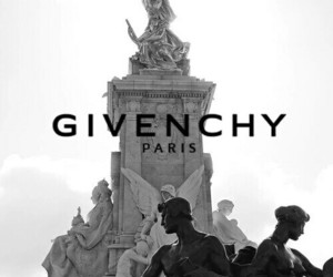 Givenchy, paris, and black and white image