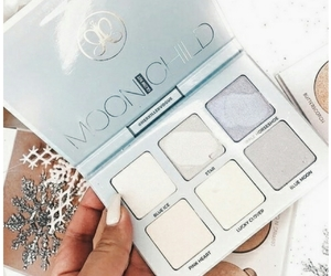 aesthetic, blue, and make-up image