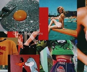 aesthetic, headers, and orange image
