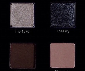 makeup, the 1975, and eyeshadow image