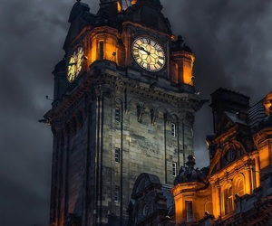photography, architecture, and clock image
