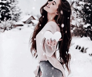 beauty, hair, and happy image