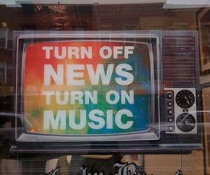 music, tv, and news image