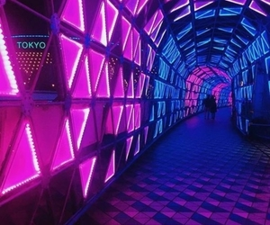 aesthetic, purple, and tokyo image