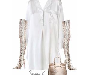 crocodile, hermes bag, and shoes image