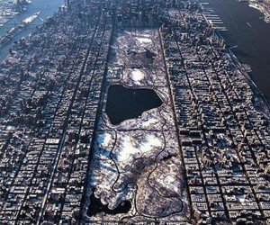 nyc, Central Park, and winter image