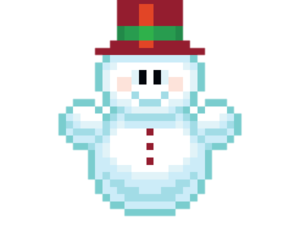 merry christmas, snow, and pixel image