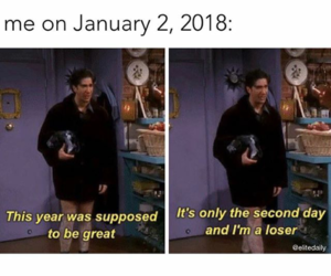 caption, ross, and relatable image