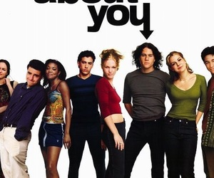 10 things i hate about you, comedy, and heath ledger image
