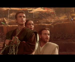 Anakin Skywalker, attack of the clones, and obi wan kenobi image
