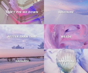 aesthetic, marina and the diamonds, and music image