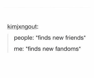 fandom, funny, and life image