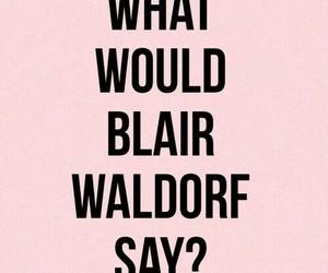 gossip girl, blair waldorf, and pink image