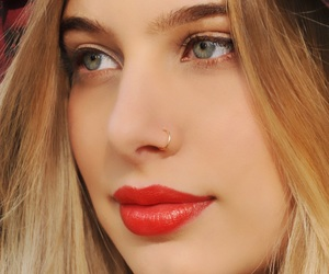 fashion, nose, and girls image