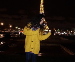 eiffeltower, fashion, and outfit image