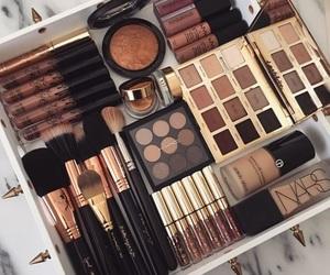 beauty, makeup, and makeup brushes image