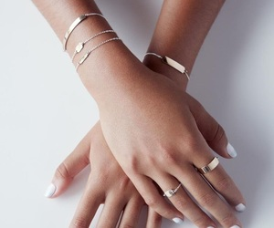 accessories, rings, and white image