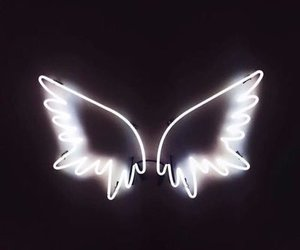 angel, life, and light image