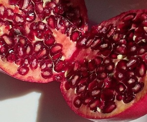 fruit, pomegranate, and summer image