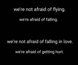 afraid, are, and falling image