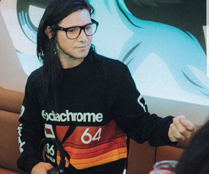 dj, party, and skrillex image