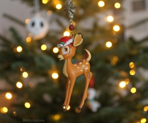 bambi, photography, and christmas image