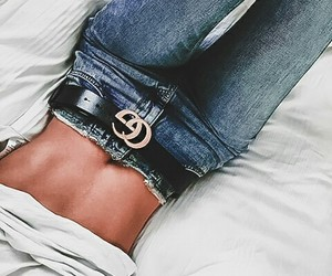 body, chic, and jeans image