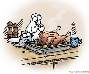 animal, food, and thanksgiving image