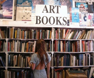 book, art, and tumblr image