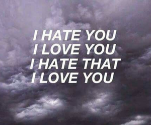 love, hate, and Lyrics image