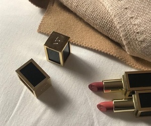 lipstick, makeup, and aesthetic image