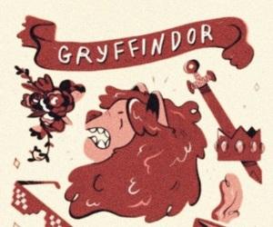 background, gryffindor, and harry potter image