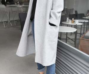 coat and all gray image