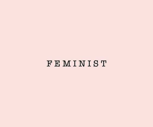 confident, empowerment, and feminism image