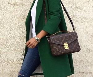 bag, clothing, and coat image