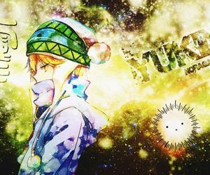 yellow, anime boy, and noragami image