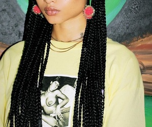 braids, india love, and melanin image