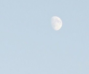 moon, blue, and sky image