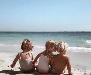 beach, kids, and photography image