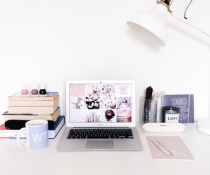 book, study, and desk image