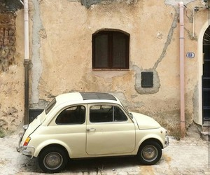 car, fiat, and travel image