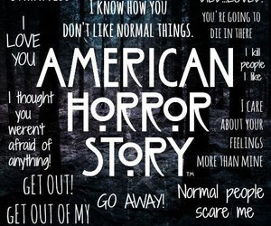 fandom, ahs, and american horror story image