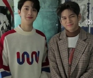 daniel, ong, and minhyuk image