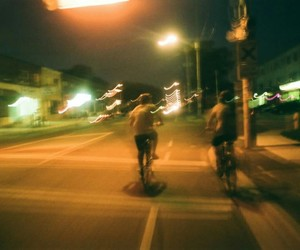 night, indie, and street image